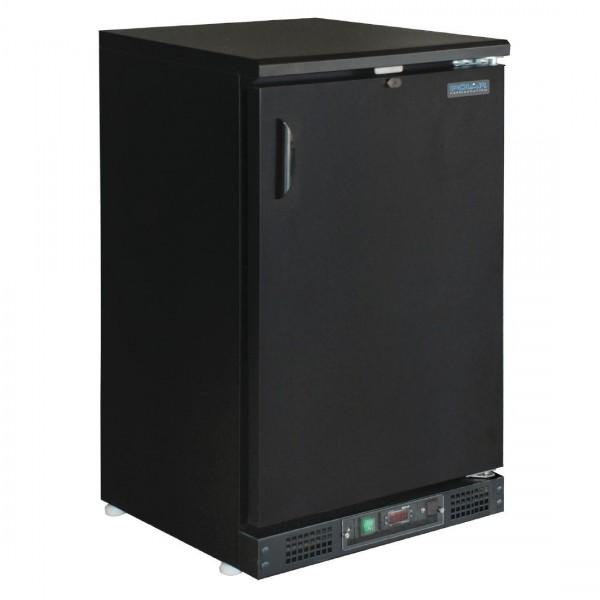 Arrière-bar 1 porte pleine noire