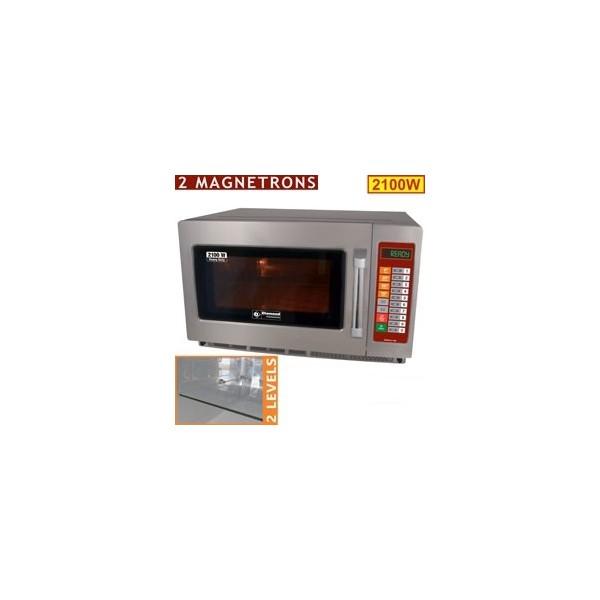 Four micro-ondes en inox (GN 2/3)