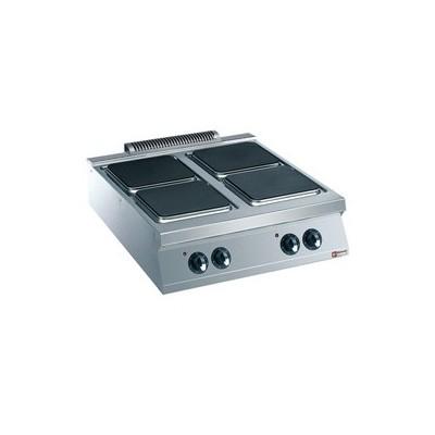 Cuisinière 4 plaques électriques